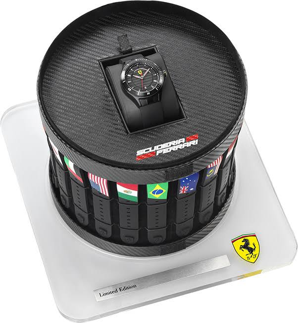 Ferrari Scuderia Grand Prix Pit Crew Limited Edition  Mens Watch