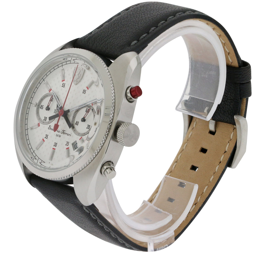 Ferrari Scuderia Leather Mens Watch