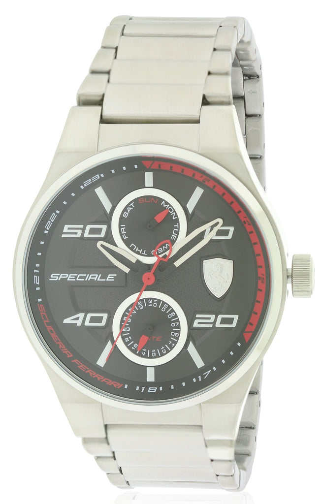 Ferrari Scuderia Speciale Stainless Steel Mens Watch