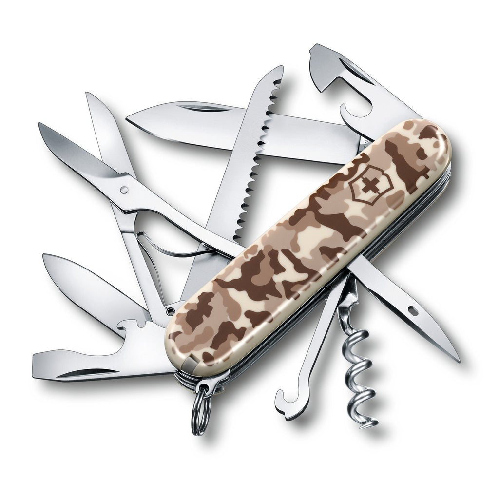 Swiss Army Victorinox Huntsman Pocket Knife - Desert Camo