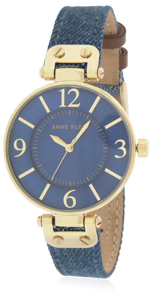 Anne Klein Denim Ladies Watch