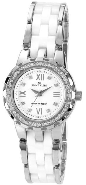 Anne Klein White Ceramic Ladies Watch