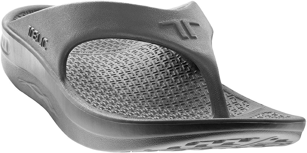 Telic Energy Flip Flop - Comfort Sandals for Men and Women - Dolphin Gray - 2XS