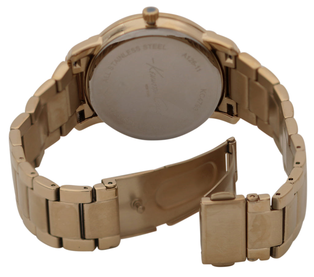 Kenneth Cole Gold-Tone Ladies Watch