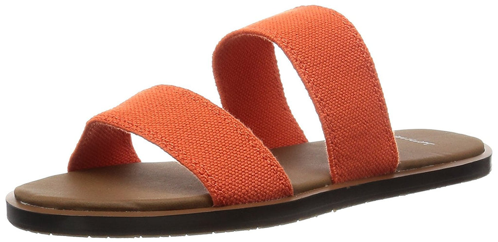 Sanuk Womens Yoga Gora Gora Sandals - Flame Size 9
