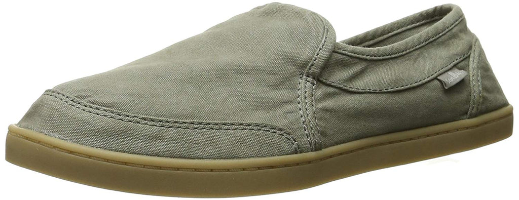 Sanuk Womens Pair O Dice Flat - Olive - 5 M US - 1013816-NAT-5