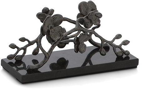 Michael Aram Black Orchid Vertival Napkin Holder -