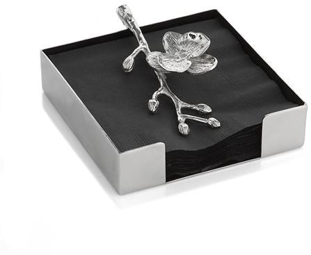 Michael Aram White Orchid Cocktail Napkin Holder -