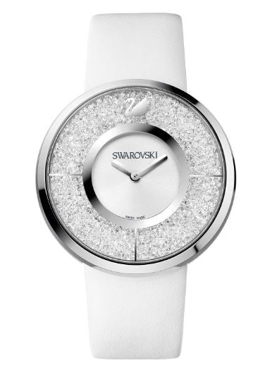 Swarovski Crystalline - White Ladies Watch