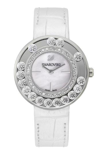 Swarovski Lovely Crystals - White Ladies Watch