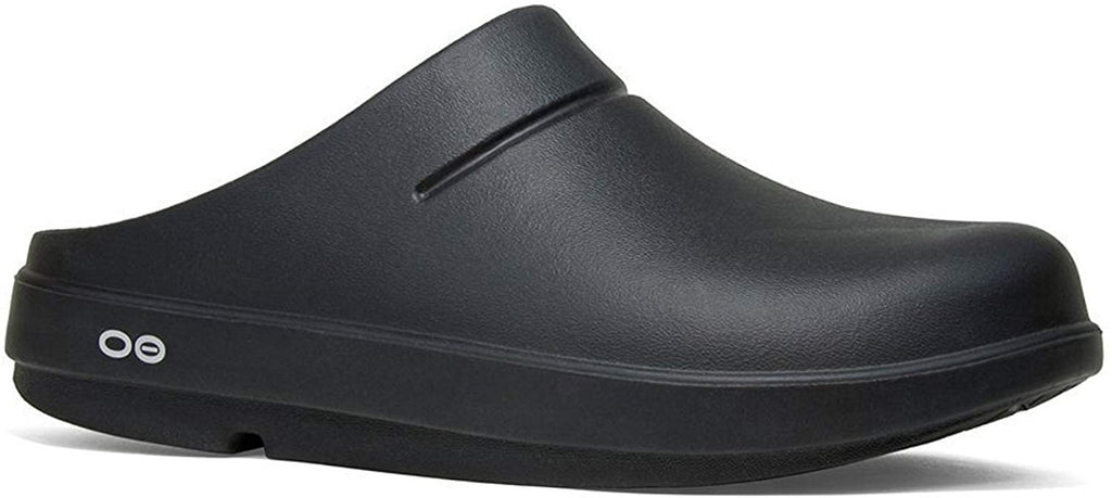 OOFOS Unisex OOcloog Clog - Black/Matte Finish - 11 Women / 9 Men