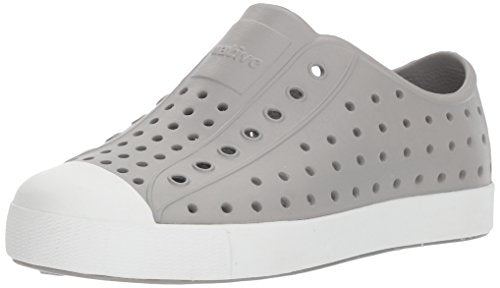 Native Jefferson Kids/Junior Shoes - Pigeon Grey/Shell White - J5