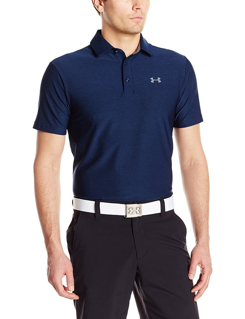 Under Armour Mens UA Playoff Polo - S - Academy/Cadet