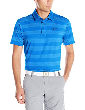 Under Armour Mens UA Playoff Polo - S - Brilliant Blue/Academy