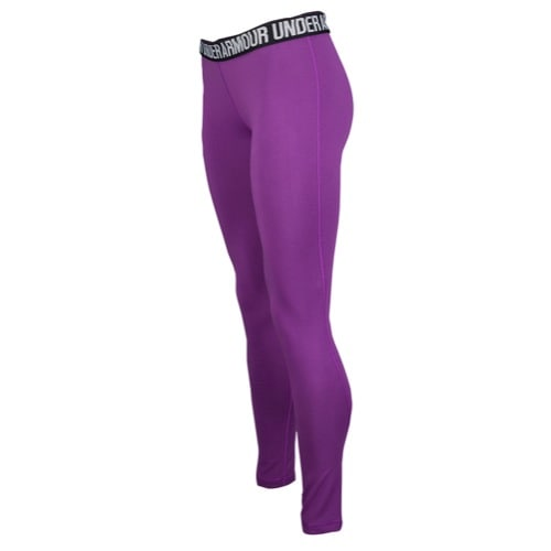 Under Armour Favourite Legging-Wordmark Womens Leggings - AW15 - XS - MEGA MAGENTA