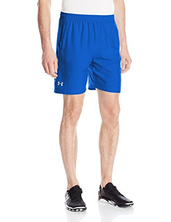 Under Armour Mens Launch Run Woven 7 inch Run Shorts - L - Ultra Blue