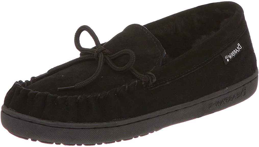 BEARPAW Mens Moc II Black