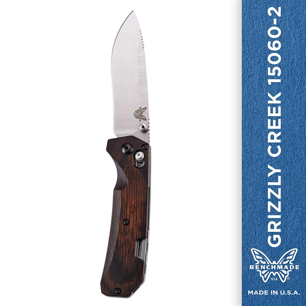 Benchmade - Grizzly Creek  Knife Wood Handle