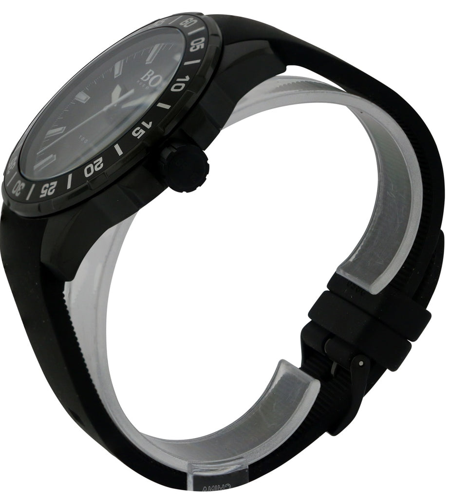 Hugo Boss Ocean Deep Silicone Mens Watch