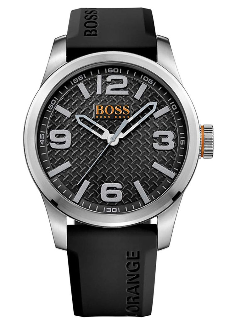 Hugo Boss Orange Leather Mens Watch