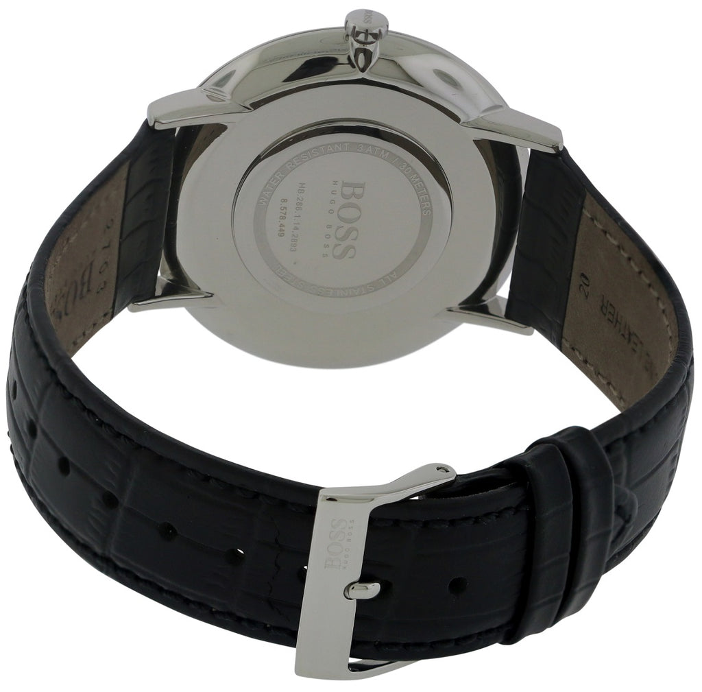 Hugo Boss Jackson Leather Mens Watch
