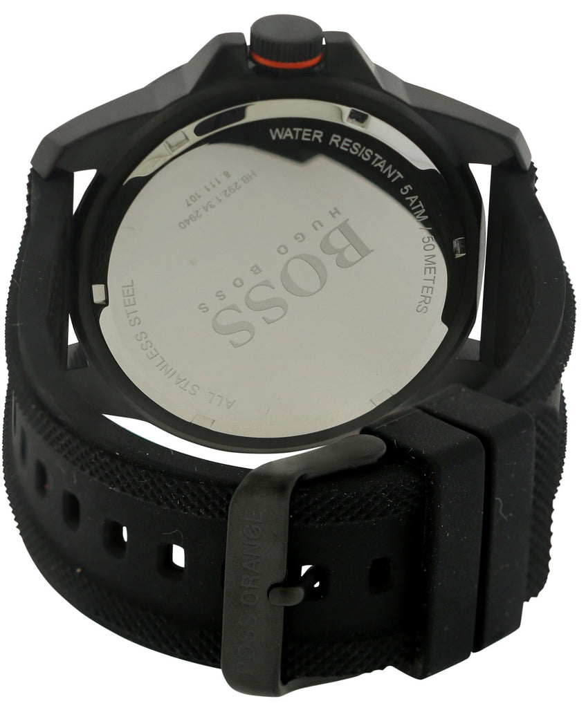 Hugo Boss Silicone Mens Watch