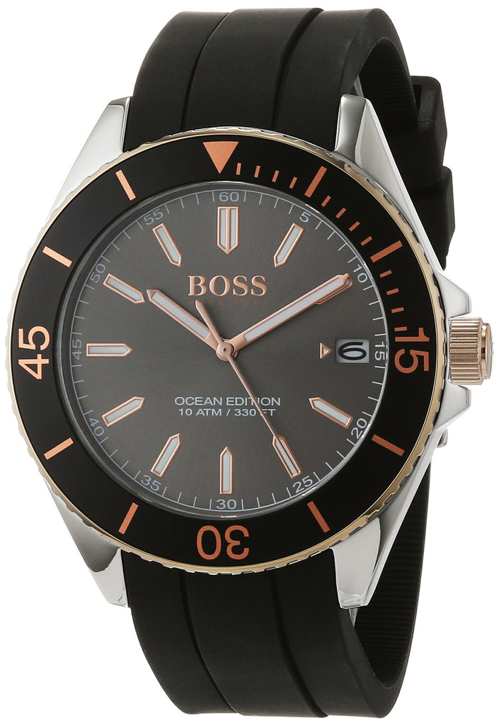 Hugo Boss Black Silicone Mens Watch