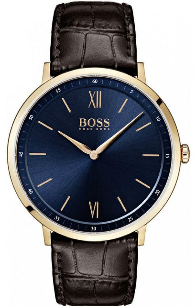 Hugo Boss Essential Leather Mens Watch