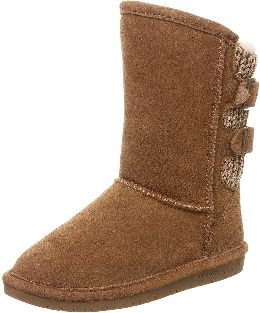 Bearpaw Womens Boshie Winter Boot - Hickory - Size 10