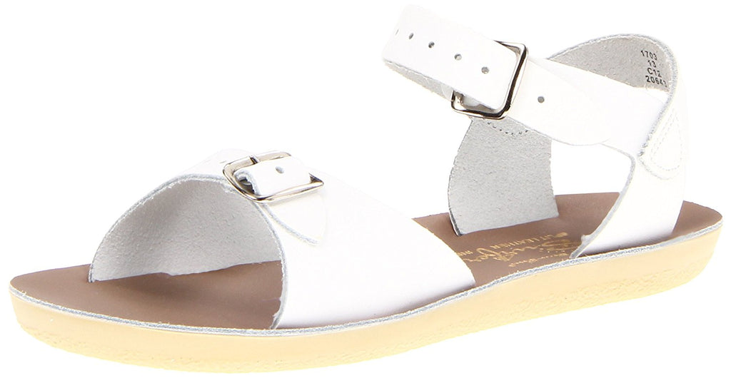Salt Water Sandals by Hoy Sun-San Surfer - White - 8 Toddler