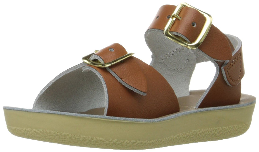Salt Water Sandals by Hoy Sun-San Surfer - Tan - 6 Toddler