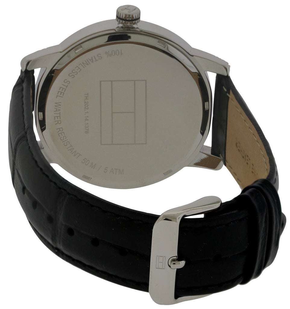 Tommy Hilfiger Leather Mens Watch