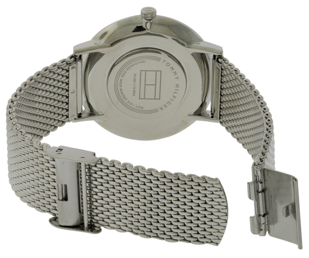 tommy Hilfiger Ultra Slim Stainless Steel Mens Watch