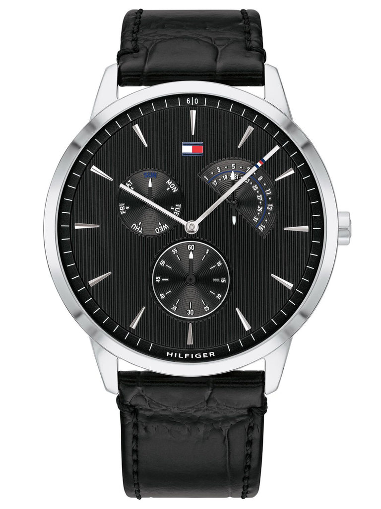 Tommy Hilfiger Brad Multifunction Leather Mens Watch