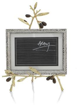 Michael Aram Olive Branch Gold Convertible Easel Frame -