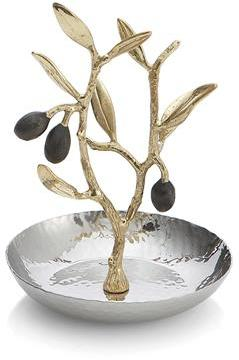 Michael Aram Olive Branch Gold Ring Catch -