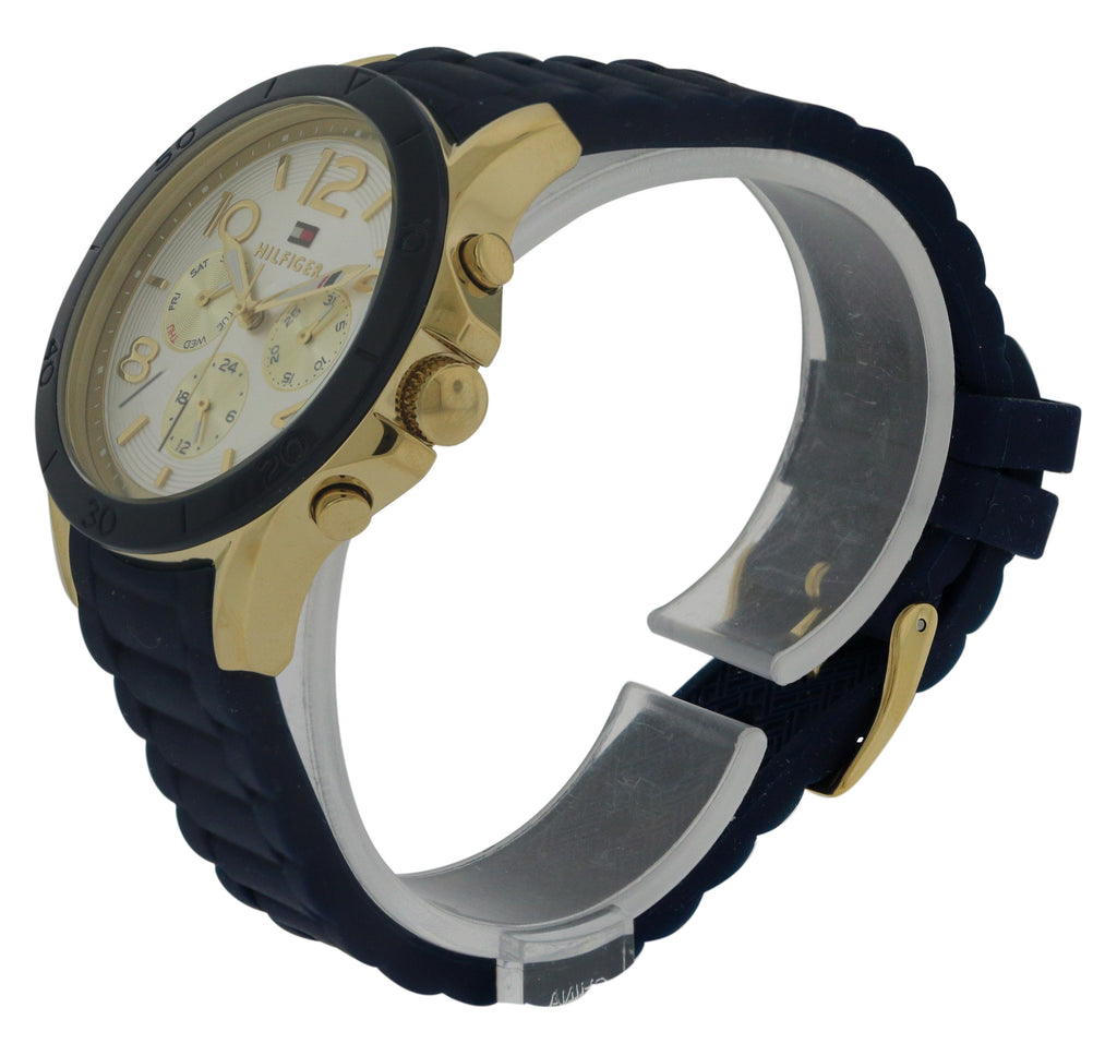Tommy Hilfiger Silicone Chronograph Ladies Watch