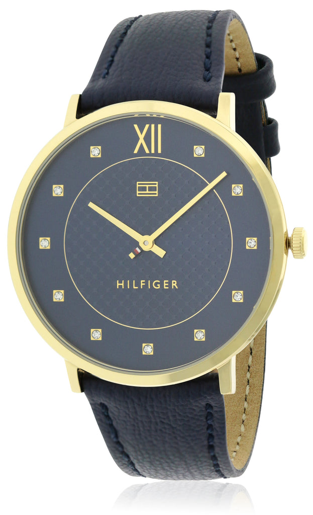 Tommy Hilfiger Leather Ladies Watch