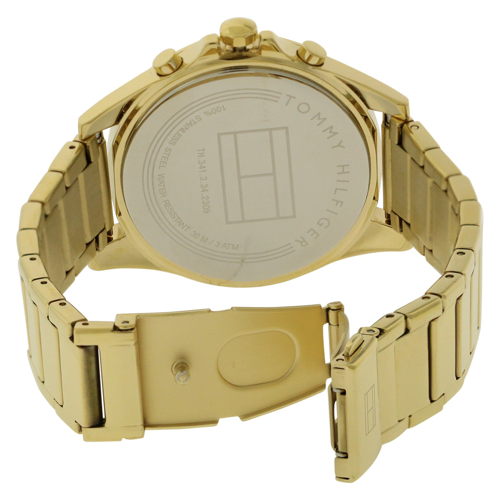 Tommy Hilfiger Chelsea Gold-Tone Chronograph Ladies Watch