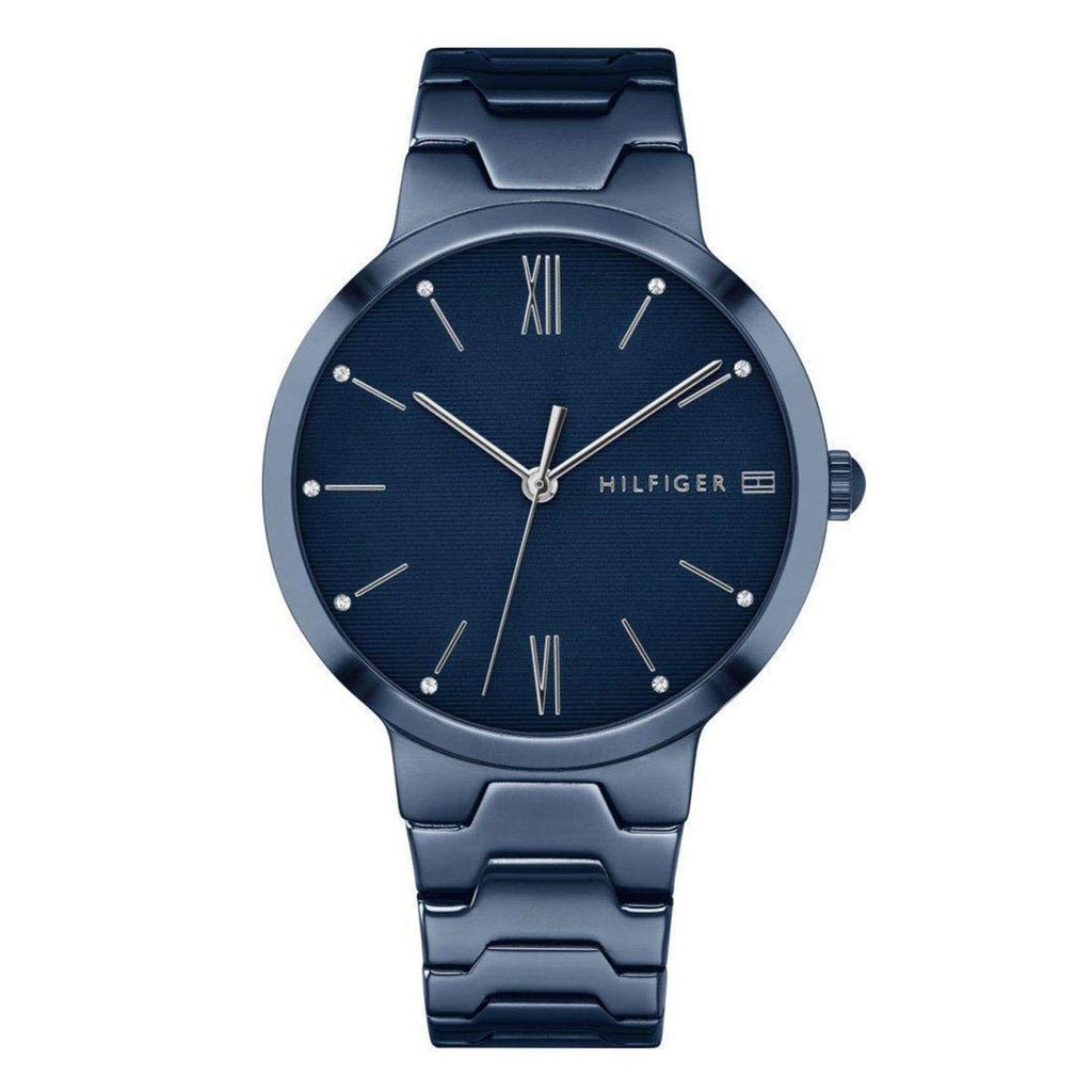 Tommy Hilfiger Blue Stainless Steel Mens Watch