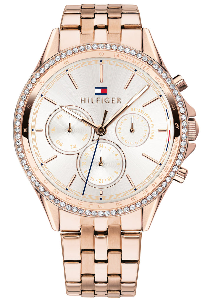 Tommy Hilfiger Ari Carnation Rose Gold-Tone Ladies Watch