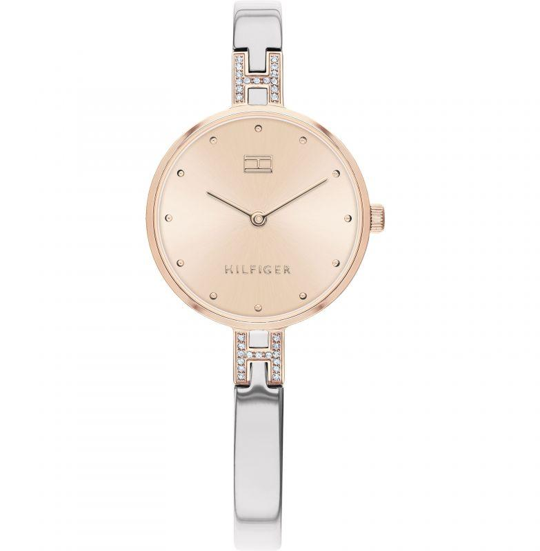 Tommy Hilfiger Two-Tone Bangle Ladies Watch