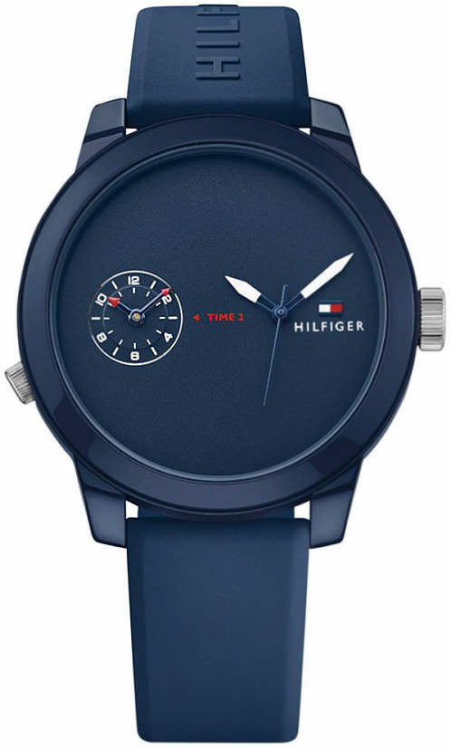Tommy Hilfiger Cool Sport Navy Silicone Mens Watch