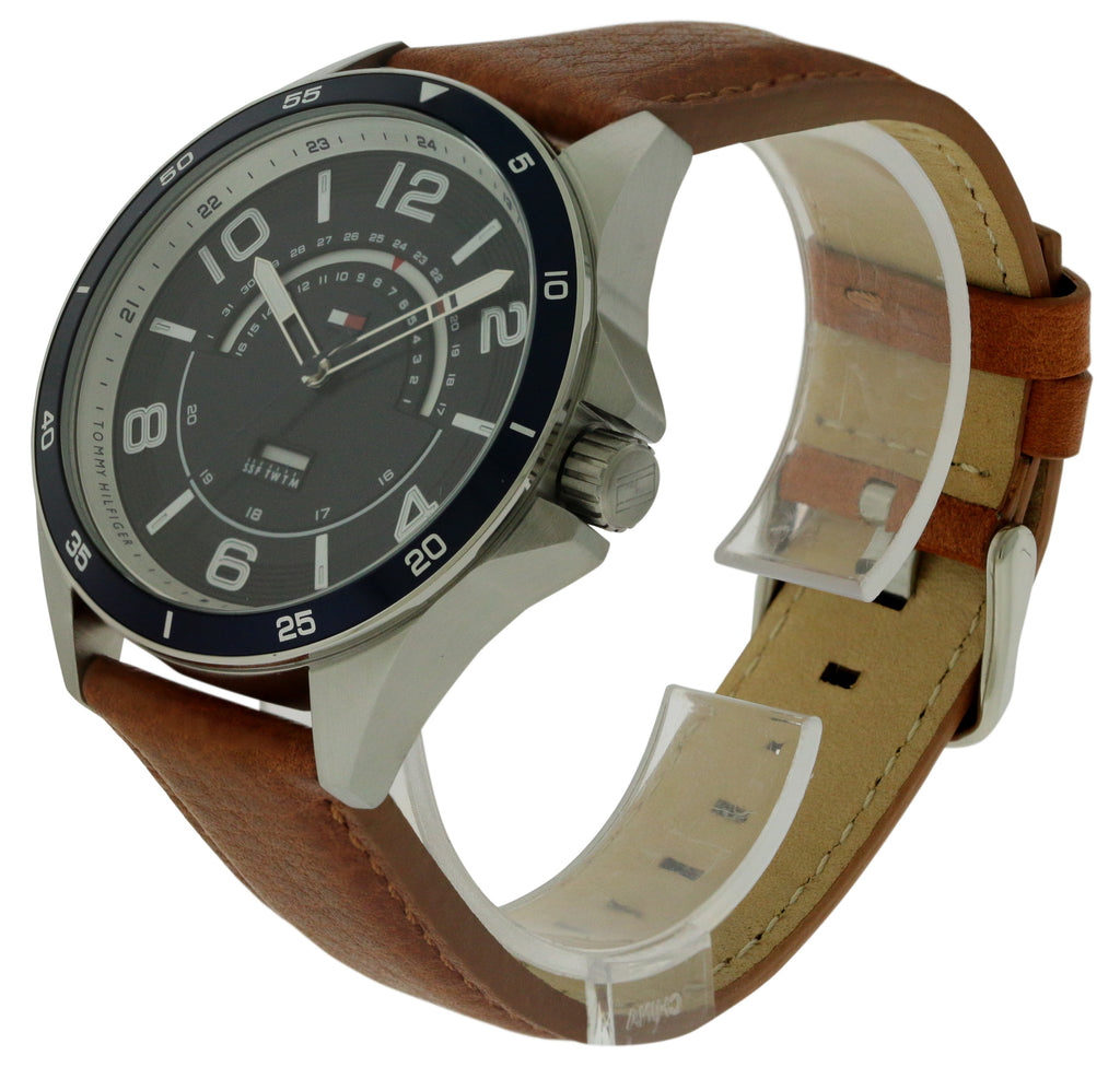 Tommy Hilfiger Sport Leather Mens Watch