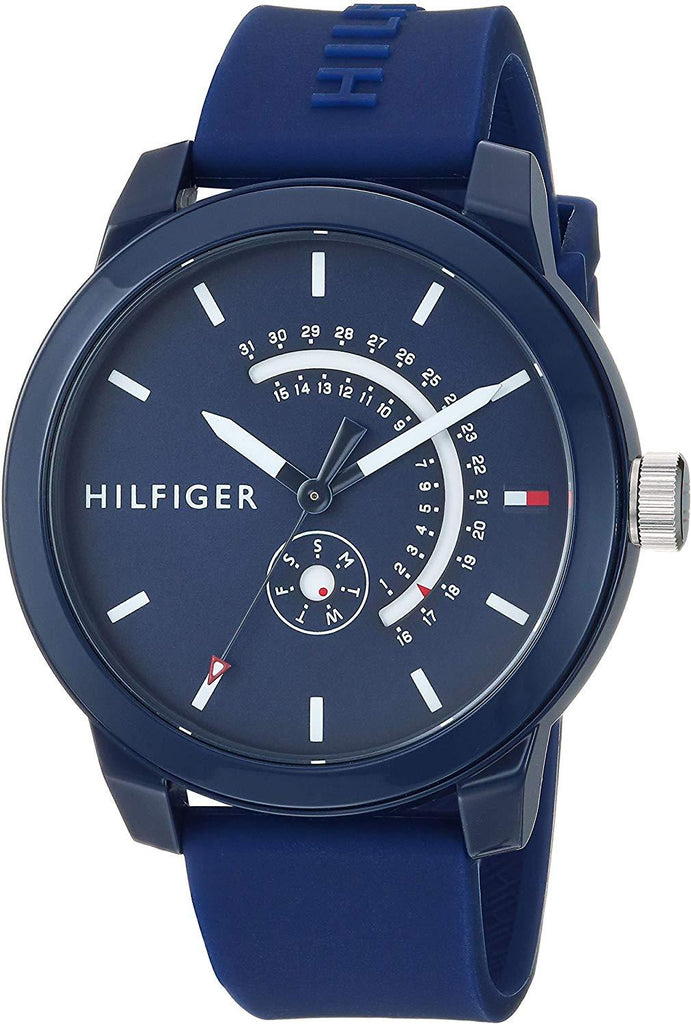 Tommy Hilfiger Blue Sport Silicone Mens Watch