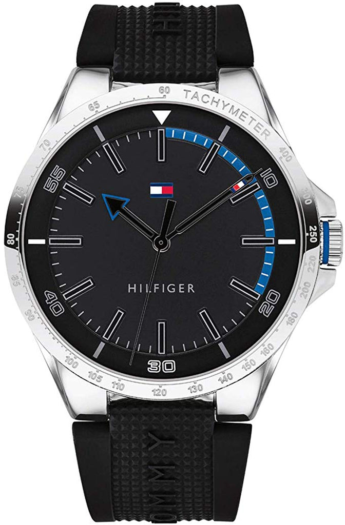 Tommy Hilfiger Sport Silicone Mens Watch