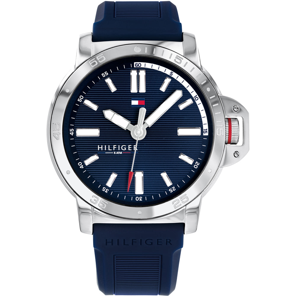 Tommy Hilfiger Diver Silicone Mens Watch