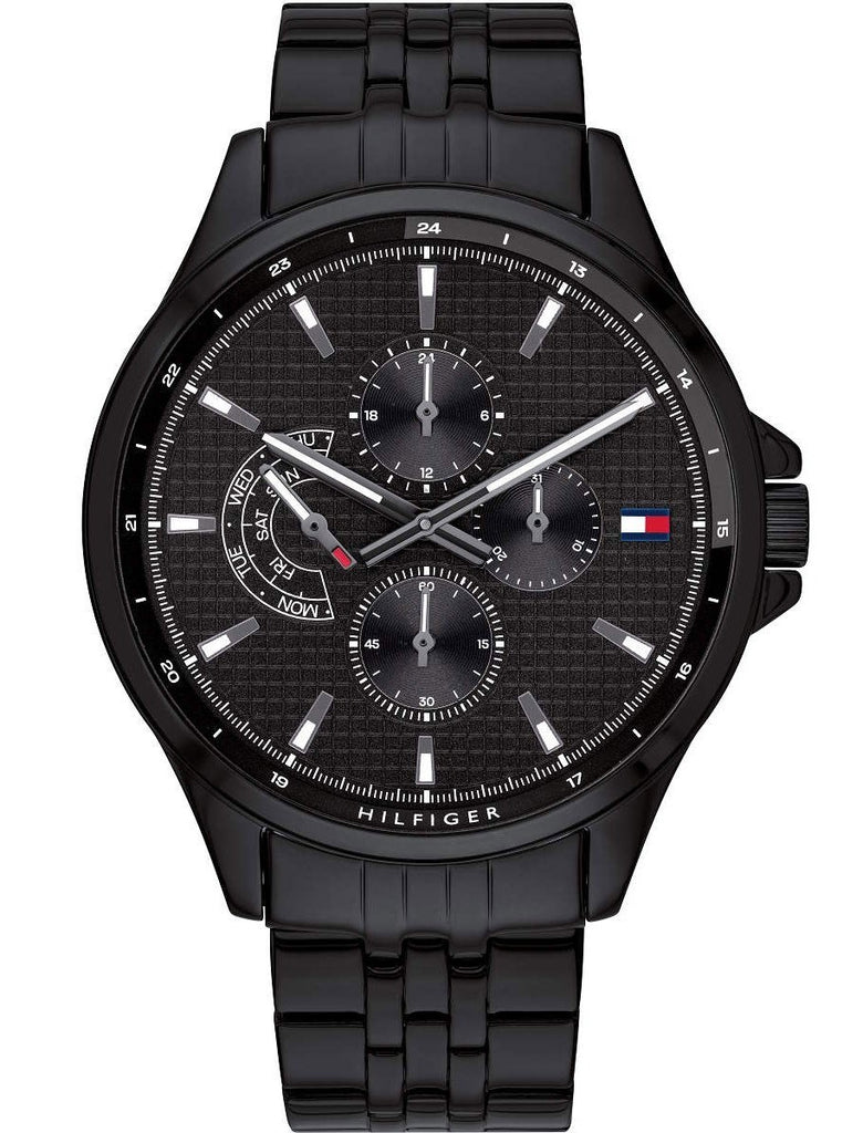 Tommy Hilfiger Multi-Function Black Mens Watch