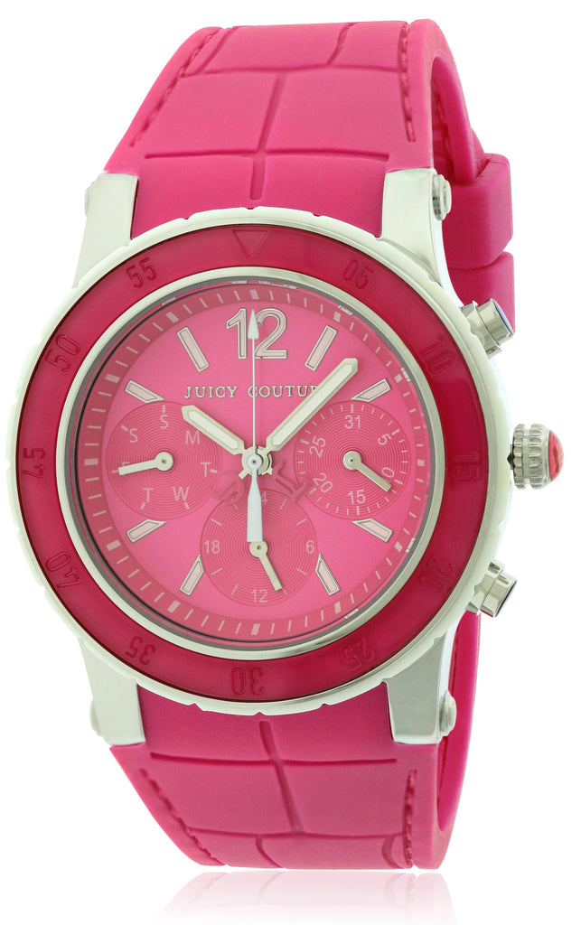 Juicy Couture HRH Pink Dragon Fruit Chronograph Ladies Watch
