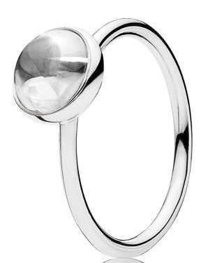 PANDORA Poetic Droplet Ring -